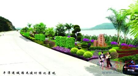 平潭景观大道改造工程下月完工