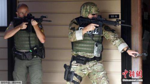 美国俄勒冈州枪击案枪手系自杀身亡 生前曾参军(图)
