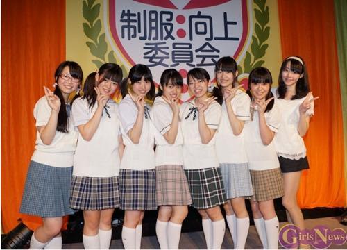 日本少女偶像唱歌反安保法 表达年轻人政治诉求