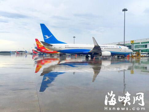 福厦机场吞吐量双破纪录 列全国第25、第11名