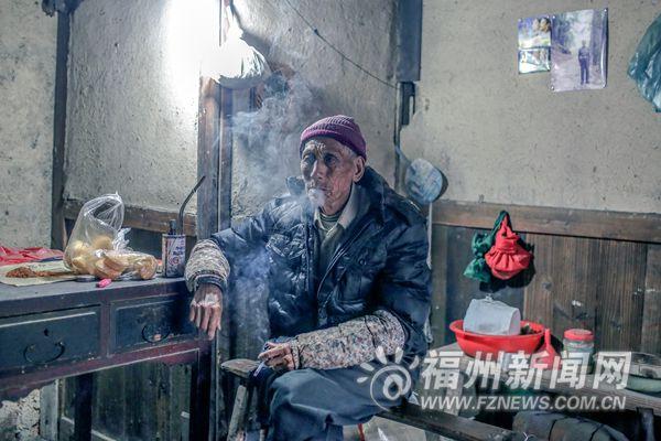 即将消失的闽清爱蕉坪:仅剩下一名老人孤独留守