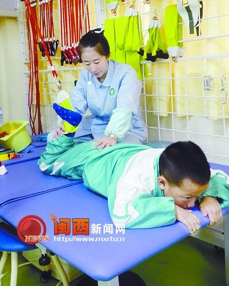 龙岩市儿童康复中心升级 新址可接纳患儿800余人