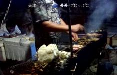 福建男子爱吃路边羊肉串 竟把烧烤摊偷回家