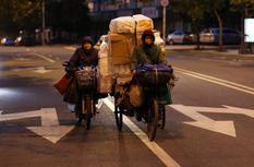 """福州菜市的""""冰点生活"""""""