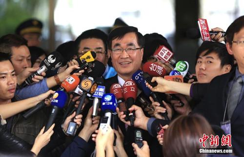 郁慕明选国民党主席 李四川回应:资格不符