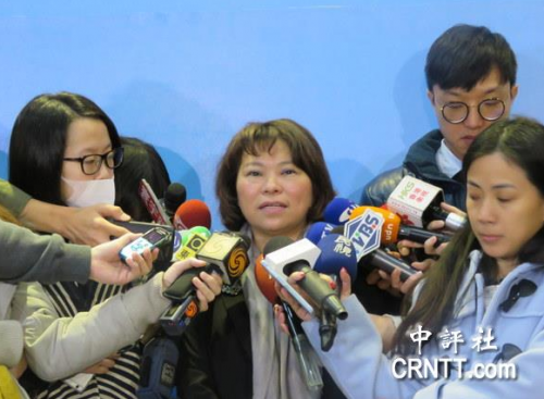 黄敏惠透露: 宣布参选前有把决定告知郝龙斌