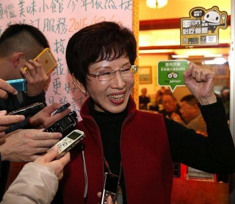洪秀柱:党主席补选联署状况不错 过年或打电话请托