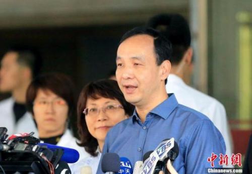 朱立伦:国民党主席选举已无分裂本钱