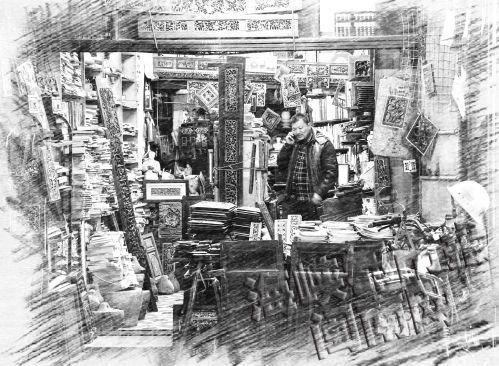 一个旧书店开了20年,淘书的人还多吗