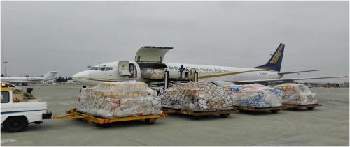 福州机场开通福州—南宁货运包机航线
