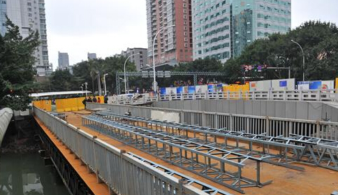 塔头路晋安河桥梁改造封闭  13条公交线路将调整