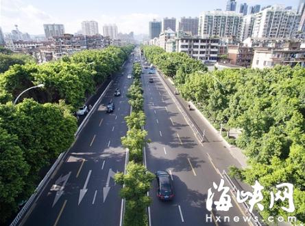 福州金山片区将推广绿化分车带 城区公园将增多