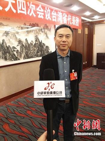 全国人大代表、武汉理工大学华夏学院董事长张晓东 (民生 摄)