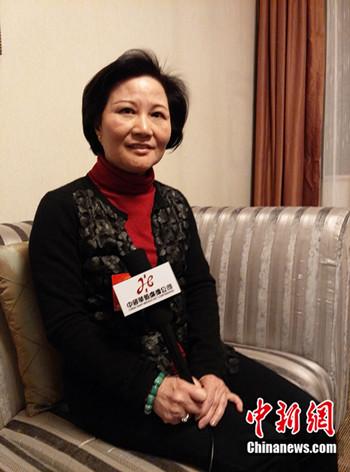 全国人大代表、中国特殊教育杂志主编陈云英 (民生 摄)