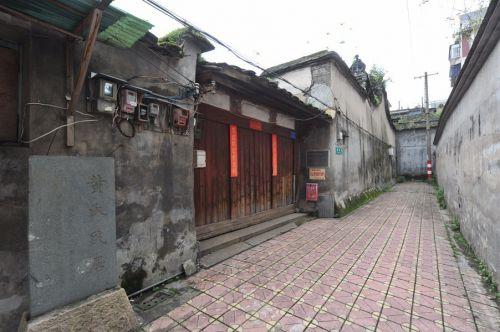 宦贵巷的黄氏民居。