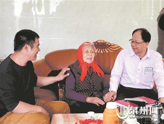 凭几封残存书信 马来西亚乡亲来泉找到祖居地亲人