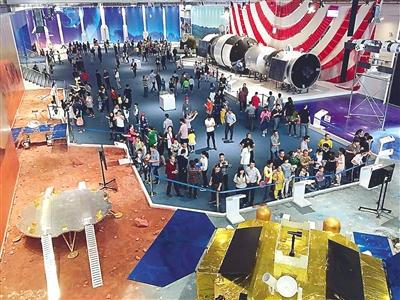 """南平航天体验馆 这里有许多""""来自太空的礼物"""""""
