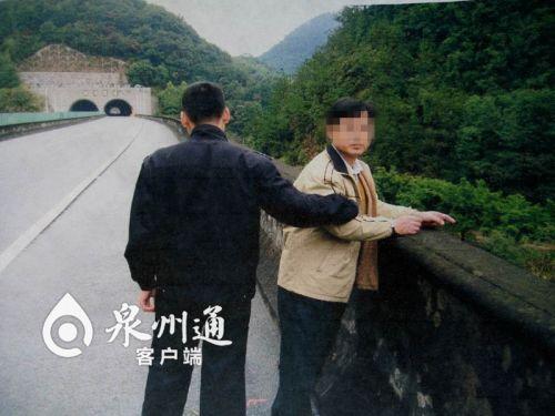 安溪一男子担心超速被拍 下车把测速仪扔下桥