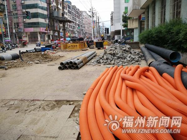 管道老化破损连江多小区闹水荒 管网改造6月完成