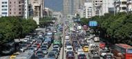 端午节期间 福州市区四路段易堵