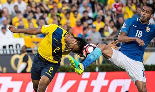 美洲杯:门将险自摆乌龙 巴西首战0-0平厄瓜多尔