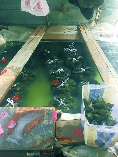 北京蔬菜大棚暗藏黑作坊 粽子泡在水泥池里(图)