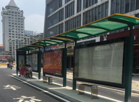 """""""樂西東""""站候車牌建好了 """"省政府""""站停靠規范了"""