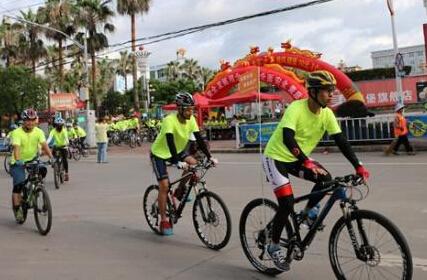 连城举办安全大搜索骑行活动