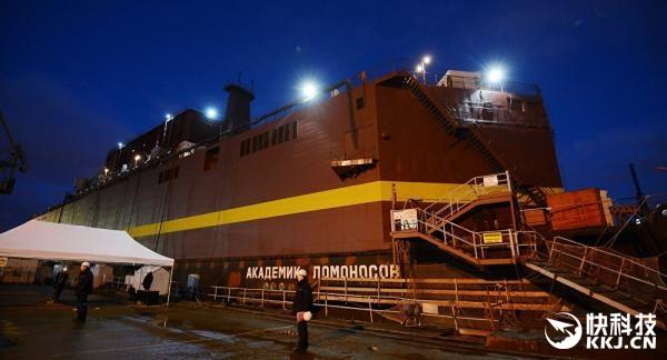 最强移动电源!世界首座浮动核电站下海测试