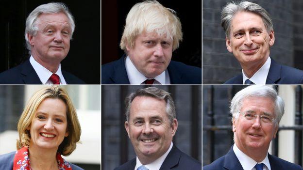 """""""铁娘子""""组建英国新内阁 鲍里斯·约翰逊成外交大臣"""