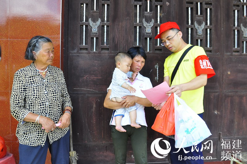 永泰灾区重建工作稳定有序开展 群众重视卫生防疫