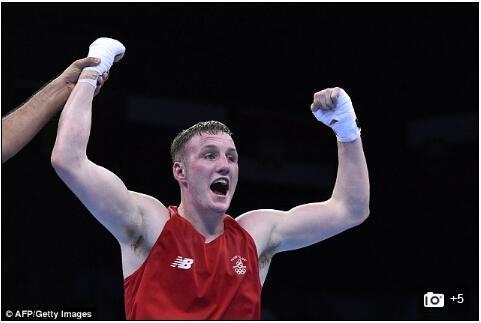 里约奥运首例!爱尔兰一拳击运动员服用兴奋剂被禁赛