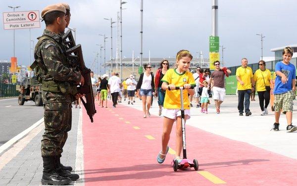 里约部署了多达8.5万人的安保力量 犯罪依旧猖獗