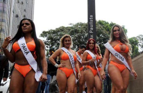 2016巴西美臀大赛现场图集 比里约奥运会更火爆的翘臀选美