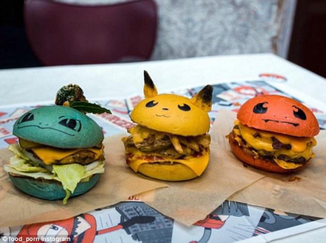 脑洞大开!悉尼一汉堡店推出宠物小精灵汉堡