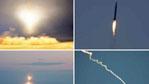 客机上拍到疑似朝鲜导弹飞行画面 轨迹清晰