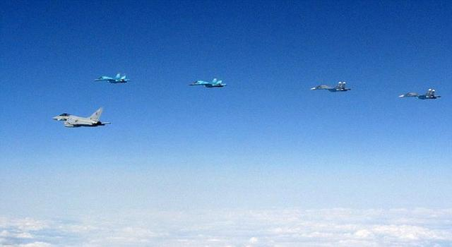 英国台风战机在波罗的海4个月拦截40架次俄军机
