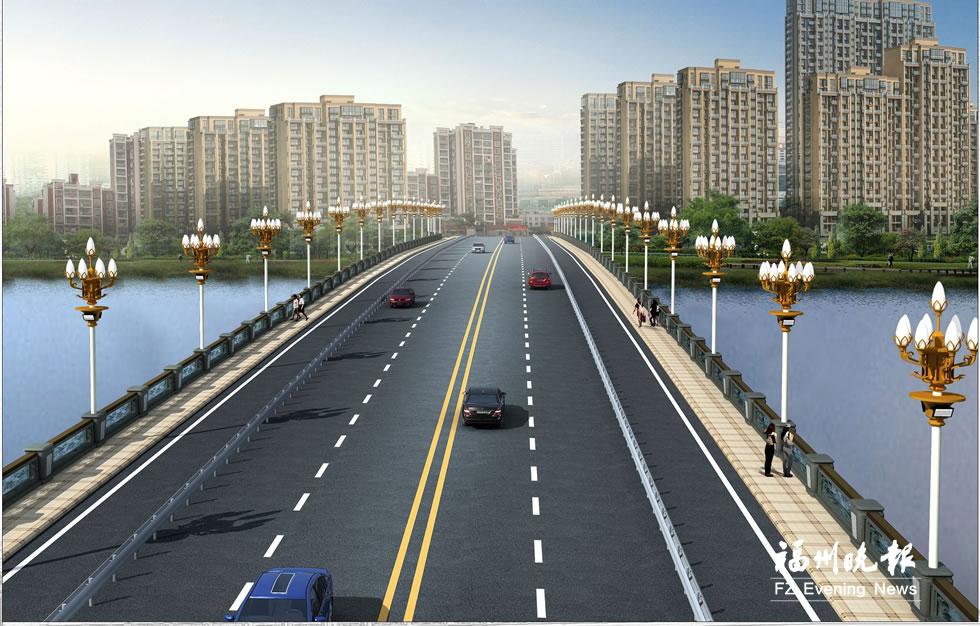 """连江解放大桥后年通车 """"一桥两路""""有序推进"""