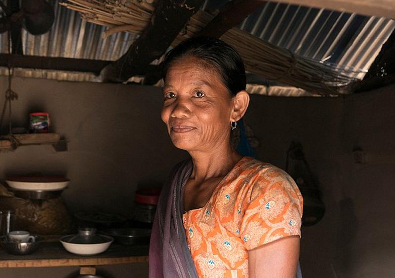 孟加拉国农夫的3人婚姻 同时娶婶婶和堂妹为妻 (图)