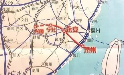 兴泉铁路先行段开工 安溪、永春将动车直达