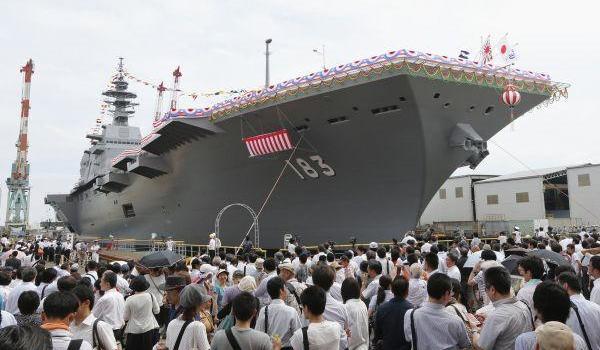 美刊:日本自卫队军舰庞大到荒谬 就是不叫航母
