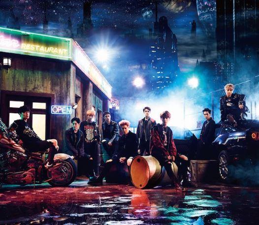 EXO推出日本新单《Coming Over》 计划12月发售