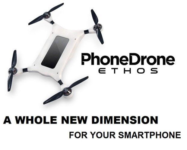 PhoneDrone Ethos:你敢把iPhone当无人机用吗?