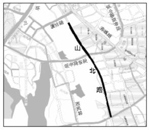 福州山北路延伸段下周主线通车 分担秀峰路的交通压力