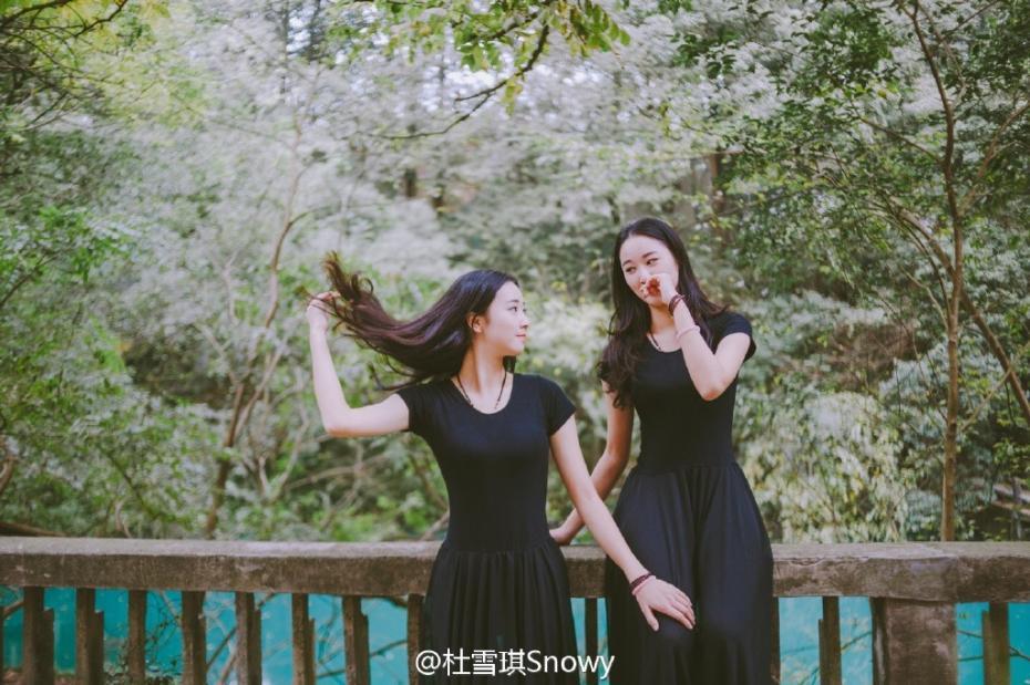 浙大学霸姐妹花杜雪琪、赵冰晶身高个人资料微博家庭背景(2)