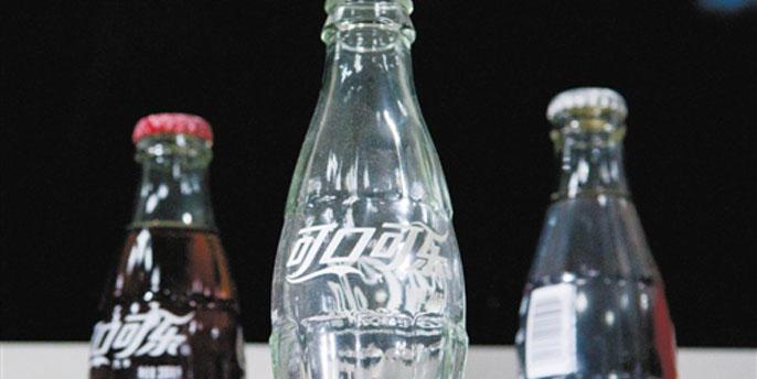 可口可乐售瓶装业务
