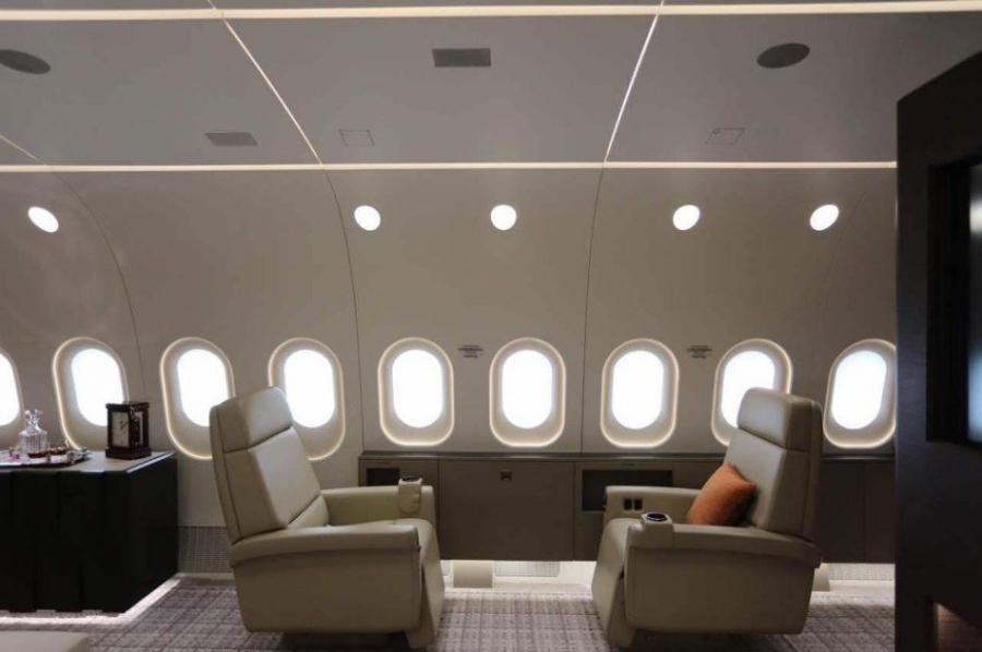"""国人买的""""世界最豪华飞机""""长啥样?价值21亿元"""