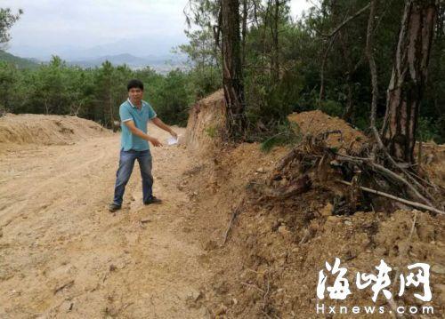 福清市上迳镇:生态公益林被毁 谁来制止?