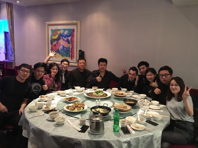 梁文博成功晋级请留学生吃中餐 火箭奥沙利文混进去蹭饭