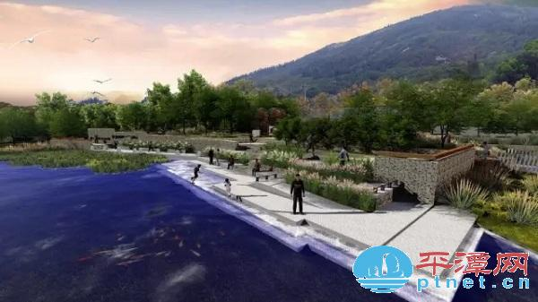 平潭天大山公园开工 总投近2亿效果图美呆了
